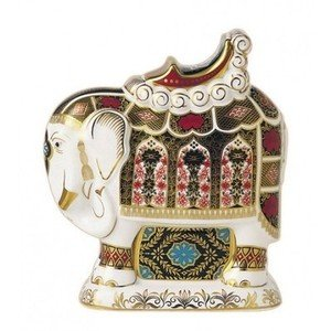 Royal Crown Derby Paperweights Large Elephant