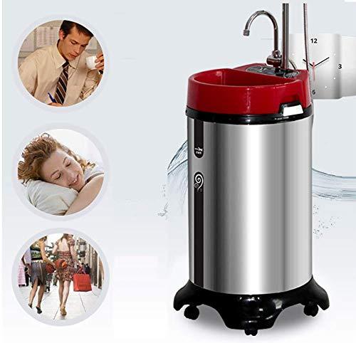 HXA Warmwasserspeicher 150L Tragbar Mobiles Bad 2000W Vertikale Dusche