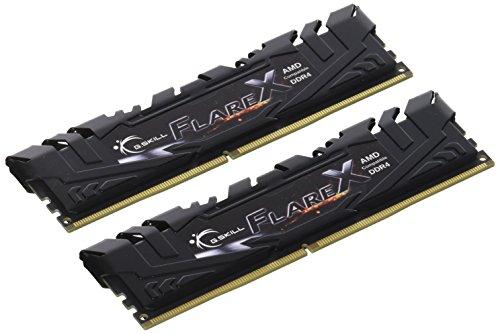 G.Skill F4-3200C14D-16GFX Memoria RAM, 16 GB (8 GB x 2), DDR4, Nero