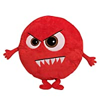 Eden Learning Spaces Monster Emotion Cushion - Scary Emoji, Classroom, Education Accessories for Children