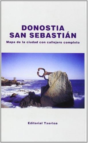 Donostia/san Sebastian Mapa Con Callejero (Guias Practicas)
