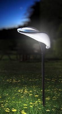 Designer LED Solarleuchte von RAY Ideal als Gartenbeleuchtung, Solarlampe, Gartenstrahler, Aussenleuchte, Solar LED Lampe, Solar Laterne, Solar Garten Licht, Gartenlampe, Stecklampe, Gartenlampe, Solar LED Leuchte von Sonstige auf Lampenhans.de
