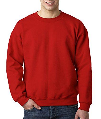 Gildan Herren Sweatshirt Heavy Blend 18000 Red M