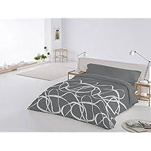 Funda Nórdica 3 piezas Beetwood cama de 180 color Gris