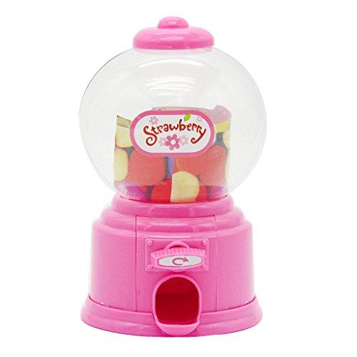 Kinder Weiß Süßigkeiten Maschine Piggy Gumball Spar Münzbehälter Retro Süßigkeiten Mini - Rosa, - Gumball Maschinen