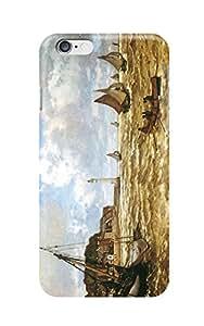 "Coque iPhone 6 Plus 5.5"" - Claude Monet - Mouth of the Seine"