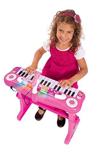 Simba 271349952,6cm My Music World Girls Debout Clavier avec Tabouret
