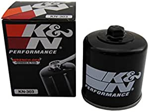 K N Kn 303 Oil Filter For Kawasaki Polaris Yamaha Auto