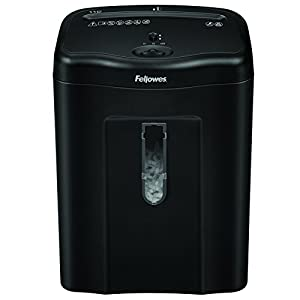 Fellowes Powershred 11C 11 Sheet Cross Cut Personal Paper Shredder with Safety Lock for Home Use