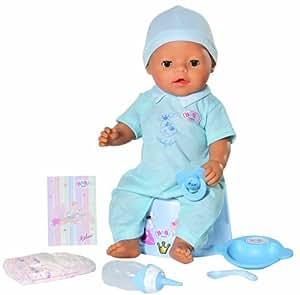 Zapf Creation White Baby Born Boy Doll With Magic Potty