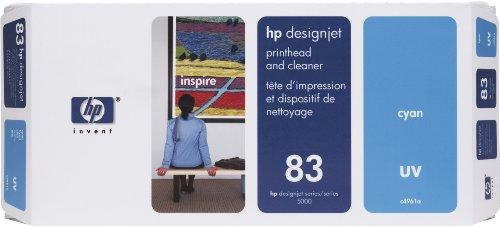 HP Tête d'impression d'origine avec nettoyeur Cyan C4961A