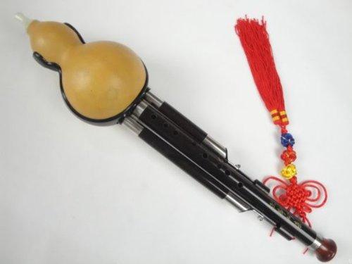 Ebenholz 3 Octave 9 Löcher 13 Hinweis Flute Hulusi Woodwind + Fall #113 - Ksotenloser Versand, Weltweit