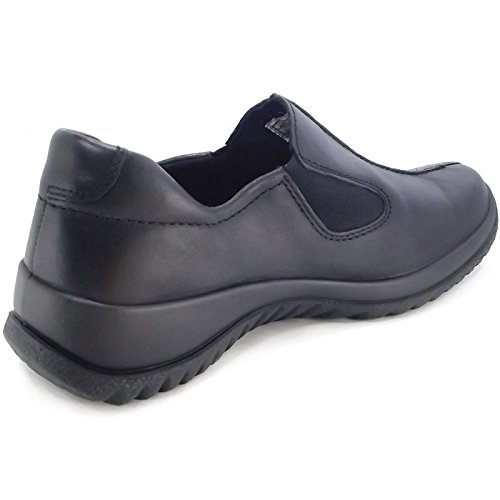 Legero Softboot Halb 800568 Damen Slipper Schwarz