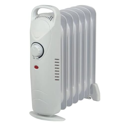 Kingavon BB-OR102 7-Fin 700W Mini Oil Filled Radiator
