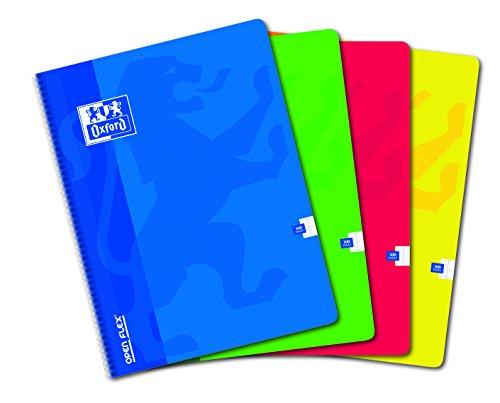 oxford-openflex-lot-de-5-cahier-a-spirales-grands-carreaux-seyes-100-pages-24-x-32-couleurs-assortie