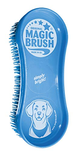 Kerbl 81901 Magic Brush Dog Blue Sky (Blue Magic)
