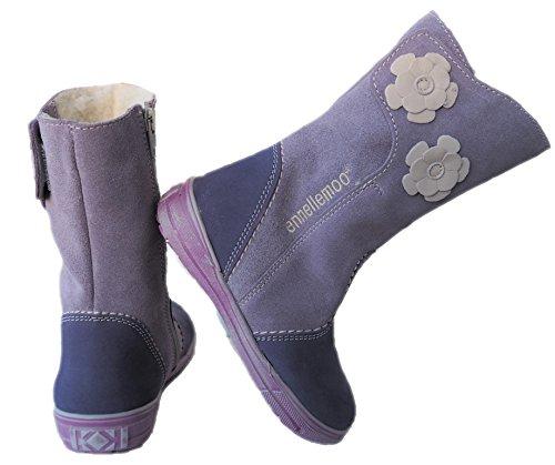 ennellemoo®  Made in EU, Bottes pour Fille Violet