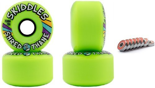 sector-9-skiddles-green-70mm-78a-longboard-slide-wheels-set-of-4-with-bearings-by-sector-9