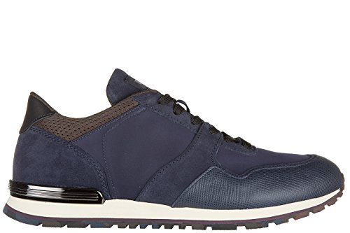 tods-mens-shoes-leather-trainers-sneakers-all-spoiler-cafu-rubber-blu-uk-size-10-xxm0xh0q800e6p85fr
