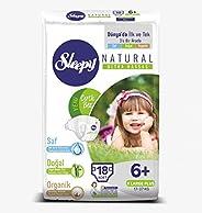 Sleepy Sensitive Pepee Jumbo Bebek Bezi, 6+ Beden, Xlarge+, 18 Adet