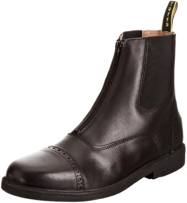 Tuffa Morgan - Botas ecuestres, color negro, talla 43