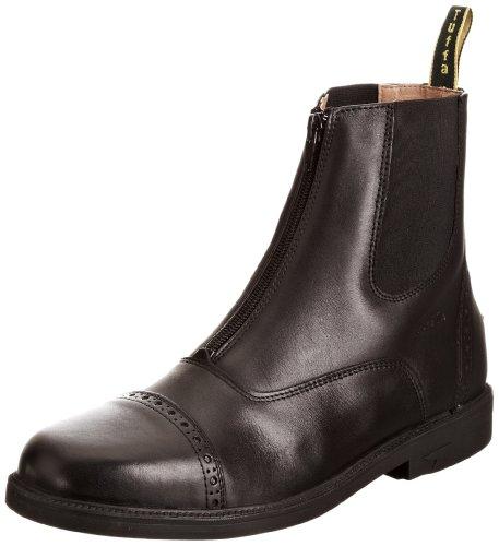 Tuffa Morgan Jodphur-Stiefel Leder schwarz schwarz Size 37 -