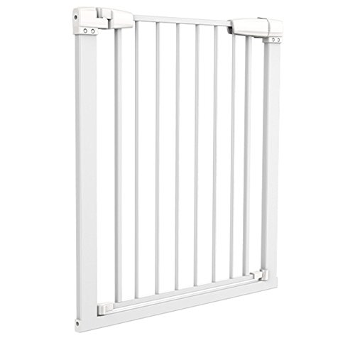 Indoor Pet Gate Multifunktionale Metall Baby Barrier - Einstellbare Tall-Wide Zaun Für Haustür Mit Abschließbarer Katze Tür ( größe : 116-123cm )