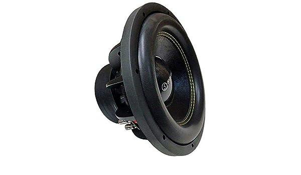 subwoofer 300 mm con Dual Voice Coil Bass Face SPL12.2 2500W Competition Subwoofer