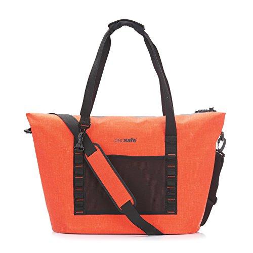 PacSafe Pacsafe Dry 36L Anti-Theft Beach Bag Reise-Henkeltasche, 63 cm, 36 liters, Orange (Orange 302)