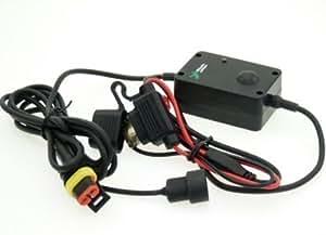 Micro USB Direct à Batterie Installation Électrique Moto Câble Chargeur (sku 9808)
