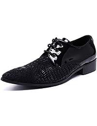 dfcf170717a LOVDRAM Zapatos De Cuero para Hombre Nuevos Zapatos para Hombre Mocasines  De Lujo Zapatos De Baile De Charol Genuino Zapatos…