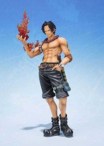 Bandai Tamashii Nations S.H.FiguartsZERO Portogas.D.Ace 5th Anniversary Edition One Piece Action Figure 2