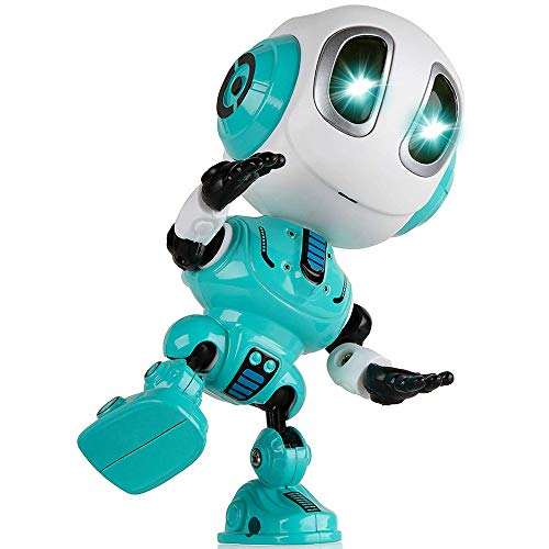 Birthday Presents Gifts for 3-12 Year Old Boys, Tisy Talking Robot for Boys Toddlers Infant Kids Fun Toys for 3-12 Year Old Boys Recording Toys for Boys Age 3-12 Stocking Stuffer Fillers Blue TSUKTR02