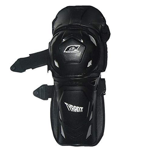 O\'Neal Tyrant MX Knieprotektor Schwarz Moto Cross Enduro Downhill Knieschoner, 0271-10, Schwarz, S/M