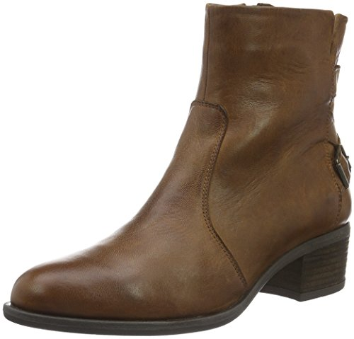 SPM - Mouse Ankle Boot, Stivali a metà polpaccio con imbottitura leggera Donna Marrone (Braun (Dk Cuoio 008))