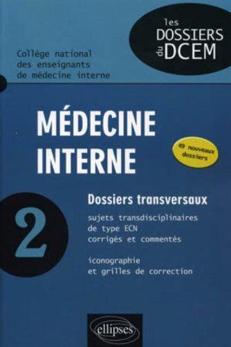 Médecine interne Tome 2