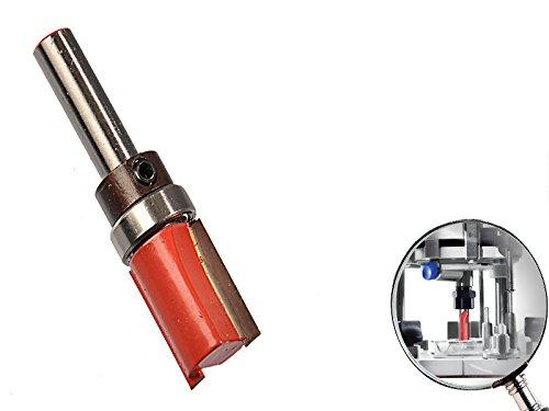 """Kopierfräser Hartmetall 8 mm Schaft 5/8\"""" x 1\"""" x 5/8\"""" Schneide für Frässchablone"""