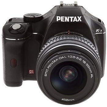 CAMARA REFLEX PENTAX K-X + OBJETIVO 18-55