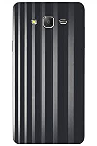 AMAN Black Wall 3D Back Cover for Samsung Galaxy On5 Pro