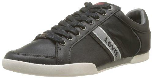 Levi's  Turlock,  Sneaker uomo, Nero (Noir (Regular Black 59)), 43