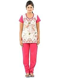 New Darling Womens OFF WHITE LOLLIPOP Cotton Pyjama Sets