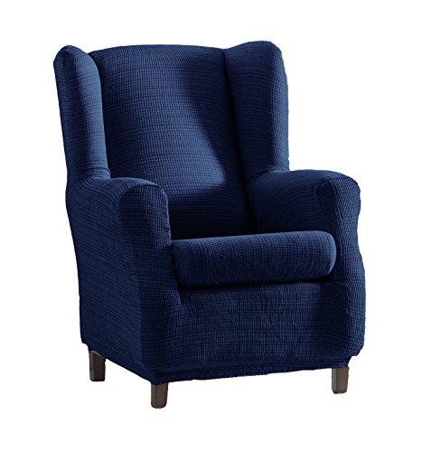 Eysa Aquiles elastisch Sofa überwurf ohrensessel Farbe 03-blau, Polyester-Baumwolle, 37 x 29 x 5 cm