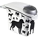 Curver Pet Dry Food Container Dog, 15 Litre