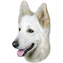 Nobby 93276 Aufkleber Deutscher Schäferhund Weiß