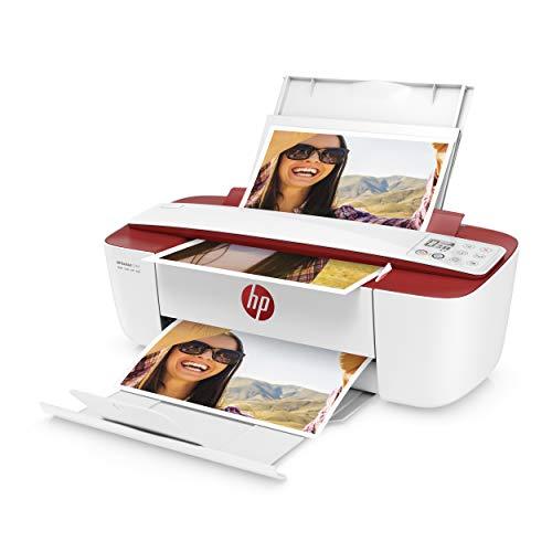 HP DeskJet 3764 Multifunktionsdrucker (Drucken, Scannen, Kopieren, WLAN, Airprint, mit 3 Probemonaten HP Instant Ink Inklusive) rot