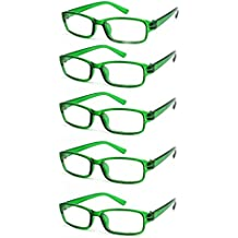 4sold Gafas de Lectura Presbicia Vista Cansada - (Pack 5) Graduadas fde 0.5  a 11c7b0245e3b