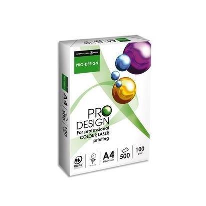 ProDesign Ramette 250 feuilles papier blanc 250g A4 21x29,7cm