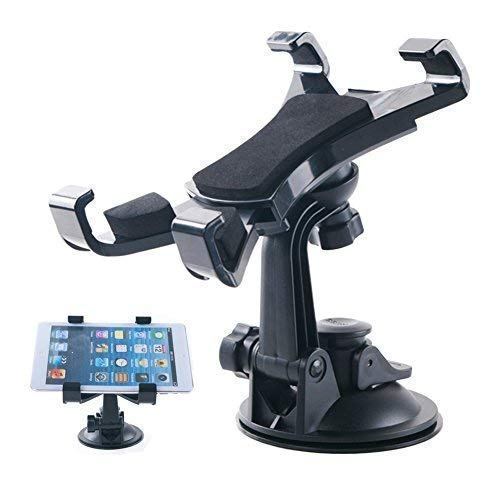 CEUTA®, Tablet Car Mount Holder Universal Mounts for Samsung Galaxy Tab 4 3/ iPad Mini/iPad Air 2 /iPad Air/iPad 4/iPad 3/ iPad 2(Revised Version - Use with All 7-10 inch Tablets)