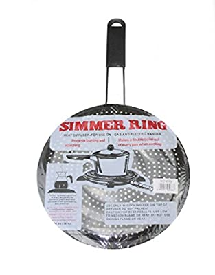 Simmer Ring Pan Mat Hob Tagine Heat Diffuser For Gas Electric Cookers Stove 20.5cmSimmer Ring Pan Mat Hob Tagine Heat Diffuser For Gas Electric Cookers Stove 20.5cm by IndiaBazaar