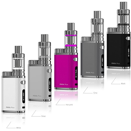 Eleaf iStick Pico TC 75 Watt / MELO 3 Mini Full Kit Farbe Anthrazit